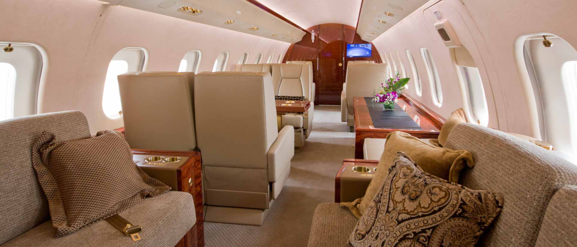 Global 6000 Interior Aft