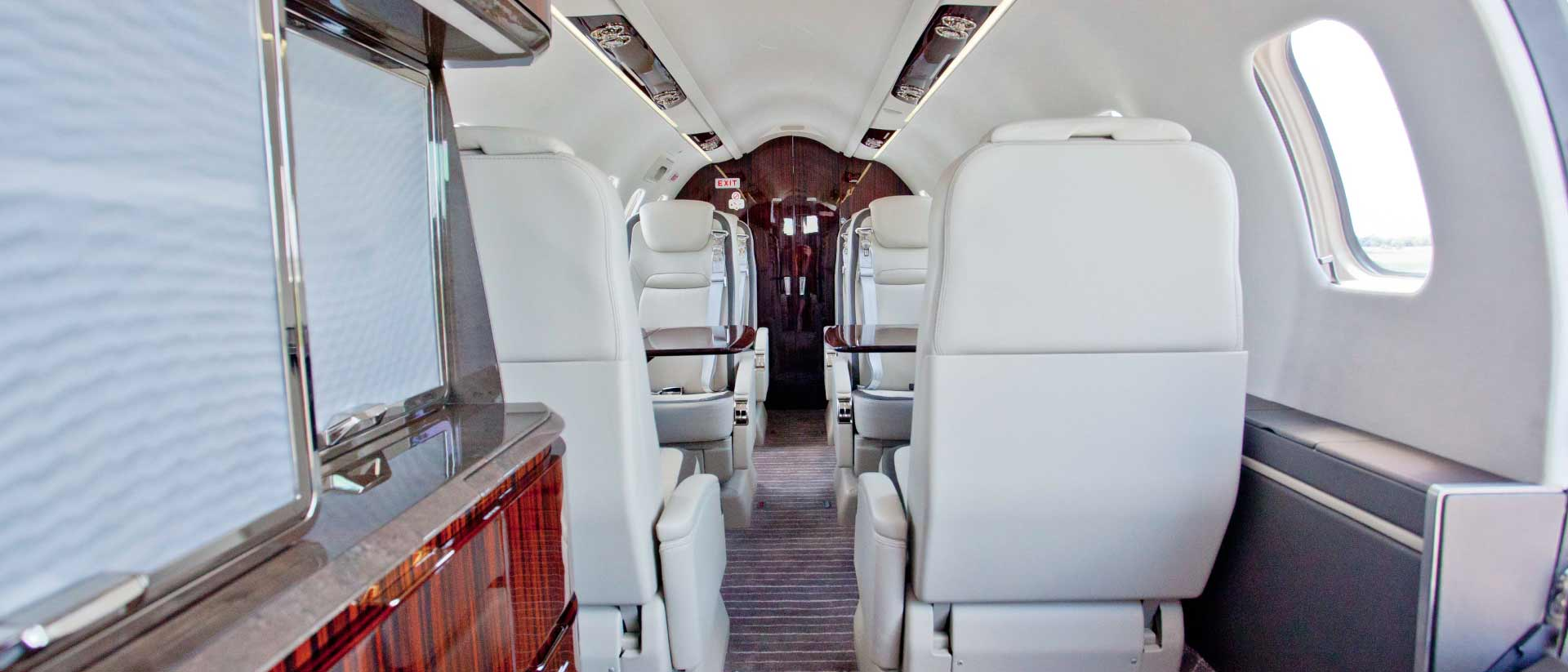 Bombardier Learjet 70 Galley