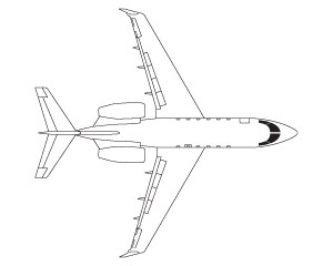 Bombardier Challenger 300 airframe