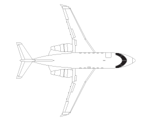 Bombardier Challenger 601 airframe