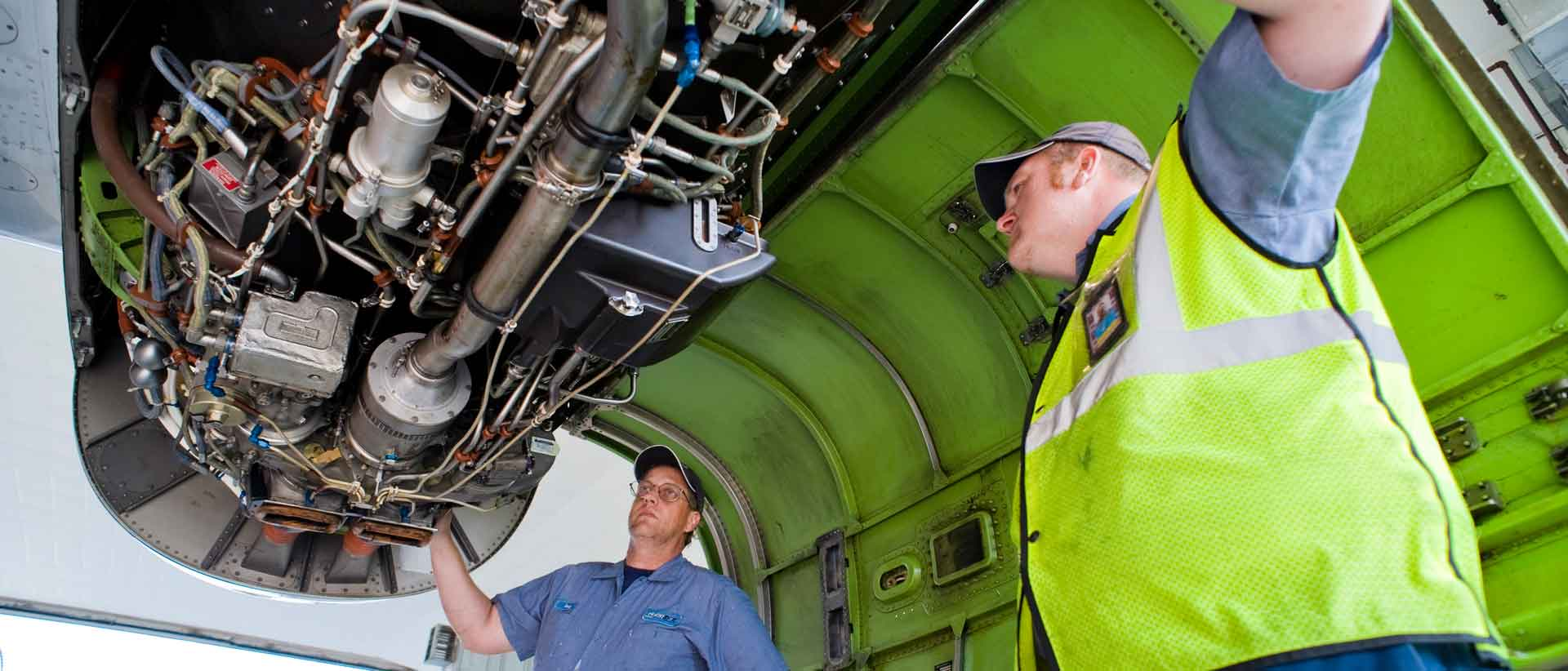Embraer Regional Jet ERJ Engine Inspection