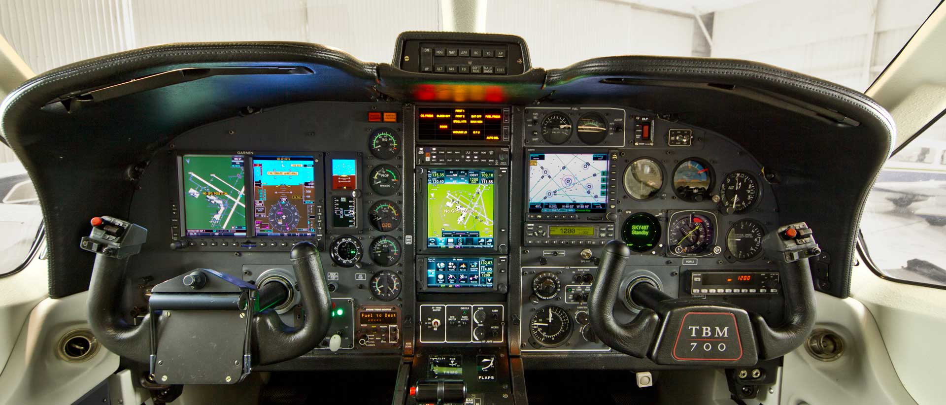 TBM-700 Avionics Upgrade