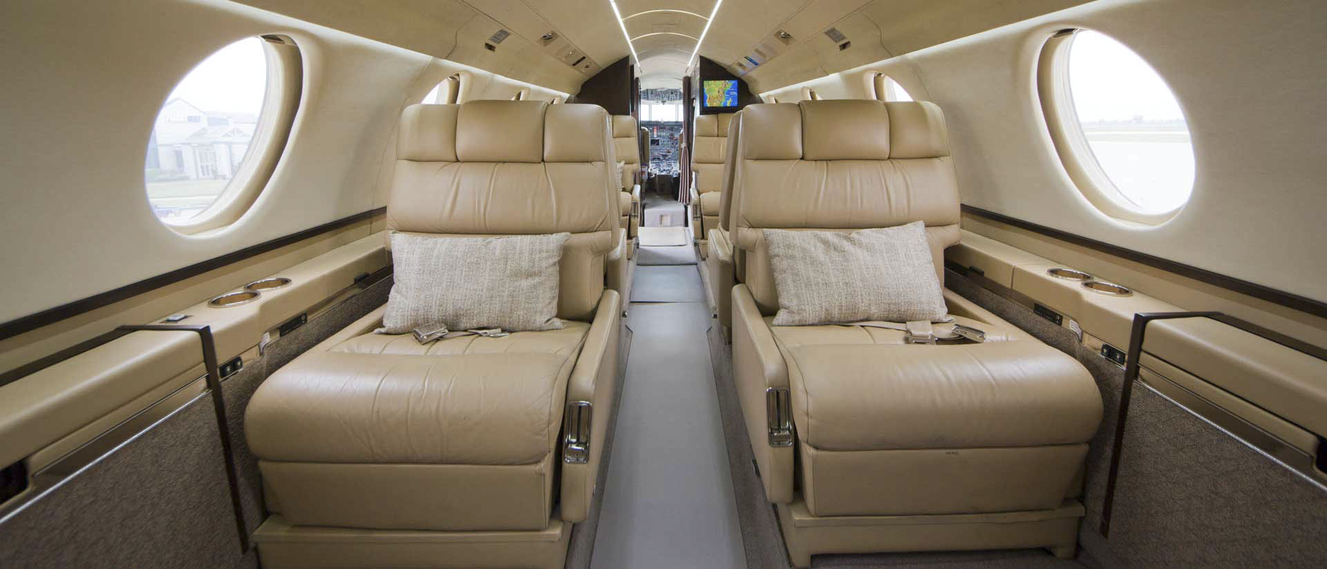 Falcon 20 Interior Aft
