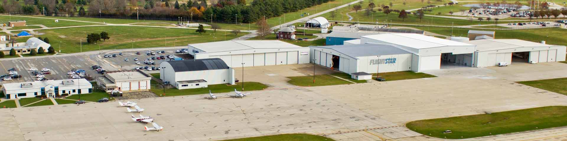 Aerial View of Flightstar Campus