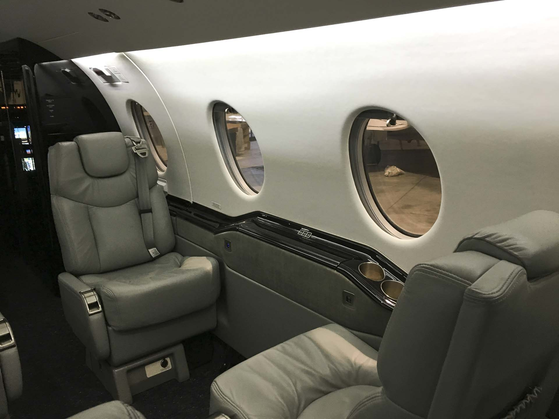 Beechjet side walls