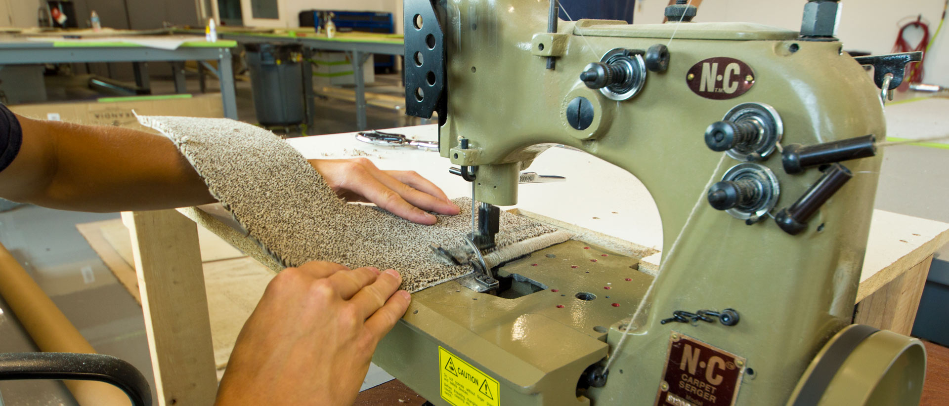 Carpet Serging
